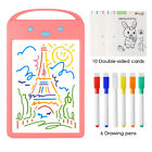 Glowing Drawing Board Sketch Pad Erasable Writing Craft Art for Children Kids