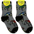 Monster Trucks Foozys Boys Kids Crew Socks