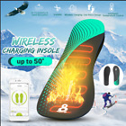 Warm Foot Heater Smart Electric Heat Insoles USB Wireless Charge