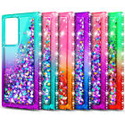 For Samsung Galaxy Note 20 / Note 20 Ultra Phone Case Liquid Glitter Bling Cover