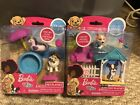New! BARBIE PETS 6 PIECE PLAYSET PUP Corgi Or Sheltie Collie Dog, Link Houses