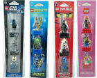Lego Minifigure Magnets; Ninjago, Star Wars, City & Atlantis Sets -20% Multibuy