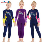 Kids 2.5mm Neoprene Wetsuit Full Body Jumpsuit Thermal Warm Scuba Dive Swimwear