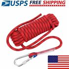 10mm 12mm High Strength Outdoor Safety Rock Climbing Rescue Rope For Climb Tree
