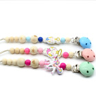 Baby Toddler Silicone Bead Pacifier Clip Teether Teeth Care Toy New N3