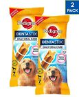Pedigree Daily Dentastix Dental Dog Treats LARGE 25kg+ Packs of 14, 28, 56, 112