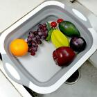 Collapsible Chopping Block Foldable Cutting Board Kitchen Silicone