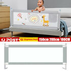 2m Kid Toddler Baby Bed Rail Guard Fence Bumper Playpen Cot Safe Equipment C