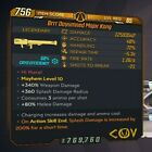 [PS4 PC XBOX] Borderlands 3 [WEAPONS] Buy 2 Get 1 Free [LEVEL 65 • M10] BL3 Guns