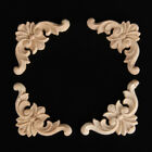 Diy Unpainted Wooden Carved Applique Furniture Mouldings Home Decor Crafts Tools