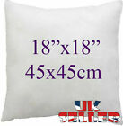 18x18inch(45x45CM)UK Cushion Pads  Fibre Filled Pillow Inserts Inners Filler
