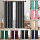 """2 Panels Blackout Window Curtains Thermal Insulated Drapes For Bedroom 52""""width"""