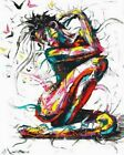 Abstract Beautiful Woman Painting Artwork Paint By Numbers Kit DIY