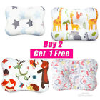 Cotton Baby Infant Newborn Pillow Flat Head Sleeping Support Breathable
