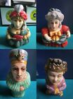 HARMONY KINGDOM TREASURE JESTS pot belly FIGURINES historical queens pick 1