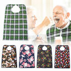 Adult Terry Cloth Protector Bibs Reusable/Washable Towel Disability Aid Tool