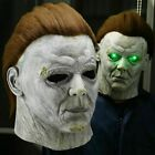 Horror Halloween Michael Myers Killer Mask Cosplay Scary Latex Costume Party