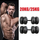 '2020 New Adjustable Water Fillable Dumbbell Set Barbell Home Gym Fitness B