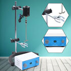 Electric Stirrer Overhead Mixer Drum Mix Biochemical Lab Tool IP30 FAST SHIPPING