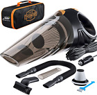 Portable Car Vacuum Cleaner: High Power Corded Handheld Vacuum w/ 16 foot cable