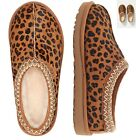 Women's Shoes 100% Authentic UGG Brand Tasman Leopard Natural Loafer Slippers