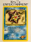 Common Rare TCG Unlimited Uncommon Pokemon WOTC Gym Heroes Card Singles