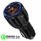 Fast Quick Dual 2 Port USB Car Charger Cigarette Lighter Adapter For Cell Phone