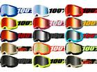 100% Strata 2 Goggles Tinted Lens Motocross Off-Road MX ATV UTV '21 Dirt Bike