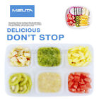 4/6 PCS Mini Baby Food Container Storage Snack Lunch Weaning Pots Boxes  V