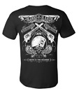Se7en Deadly Blood on your Hands Guns Cards Gothic Punk Tattoos T Shirt 1034-T