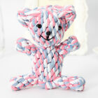 CW_ Cute Braided Rope Dog Slipper Bear Duck Pet Dog Teeth Cleaning Chew Teething