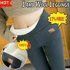 SUPER THICK CASHMERE LEGGINGS Winter Tight High Waist Pants Warm Pants Fashion