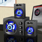SADA D-211 3 in 1 Home Speaker 3.5mm Wired Speakers Portable Music Player F6F3