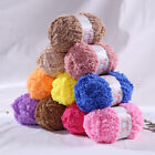 50g/roll Soft Fluffy Knitted Woven Baby Knitting Wool Yarn For Sweater Hat Scarf