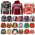 Mens Women * Jumper Funny Warm ▪ Knitted Sweater Pullover Novelty