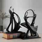 Abstract Dancing Couple Sculpture Decorative Statue Lovers Home/office Decor Au