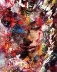 Colorful Beautiful Woman Abstract Painting Artwork Paint By Numbers Kit DIY