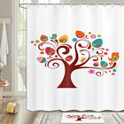 Easter Eggs And Birds Shower Curtain Bathroom Decor Fabric 12hooks 71in