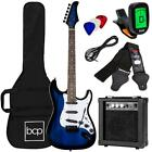 39 Inch Beginner Electric Guitar Kit With Strap Case 10W Amp And Tremolo Bar for sale
