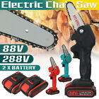800W/1080W One-Hand Saw Woodworking Electric Chain Saw Wood Cutter Cordless