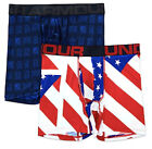 "UNDER ARMOUR UA Tech Boxerjock 2 Pk 6"" Boxer Briefs Underwear NIB Mens M L XL"