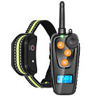 Dog Shock Collar With Remote Waterproof Electric For Pet Training Anti Barking