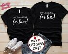 Cute Thanksgiving Couples Shirts, Boyfriend, GIrlfriend Gifts, Husband & Wife