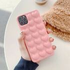 Cute 3D Love Heart Soft Case Cover For iPhone 12 Pro Max 11 XR XS X 7 8 Plus 6s