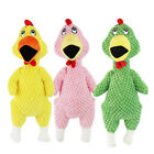 SCREAMING CHICKEN DOG PET SQUEEZE SQUEAKY SOUND FUNNY SAFETY MOLAR CHEW TOY