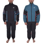 Sergio Tacchini Mens Daloa Full Tracksuit Track Jacket Track Pants Bottoms Set