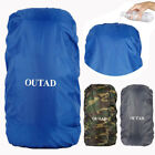 Protable 300D Oxford Fabric Waterproof Backpack Travel Outdoor Camping Dust US