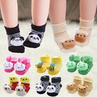 Baby Floor Socks Rubber Non-slip Cotton Cartoon Kids Toddlers Soft Cute Boots