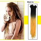 Real Thick Dreadlocks Hair Extensions Long Braids Crochet Twist Dreads Faux Locs
