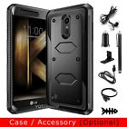 For LG K20 Plus/K20 V/K10 (2017) Protective Rugged Rubber Hard Phone Case Cover
